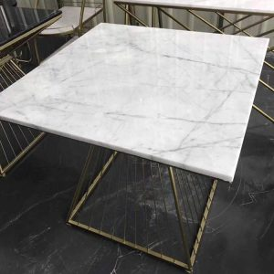 Marble coffee table rectangle-1